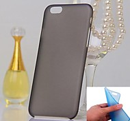 0.3mm Ultra Thin Frosted Soft Hard Cover for iPhone 6