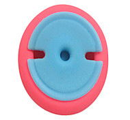 Cable Organizer Button Cute Cable winder Earphone Hub Data silica gel silicone with retail package