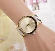 Women's Fashion Rhinestones Steel Belt Quartz Wrist Watch