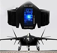 militaire koele led display horloge kleurrijk licht digitale sport stealth fighter stijl horloges