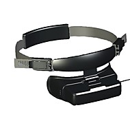 GLOWOR 80'' Virtual Display Digital 3D Video Glasses HMD Goggles with AV-IN Great for FPV