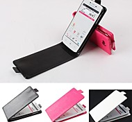 Hot Sale 100% PU Leather Flip Leather Up and Down Case for Lenovo A706(Assorted Colors)