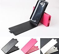 Hot Sale 100% PU Leather Flip Leather Up and Down Case for Huawei G730(Assorted Colors)