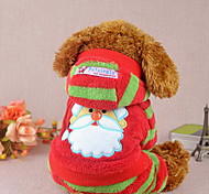 Dog Coat Red / Pink Winter Christmas Christmas