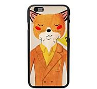 Elonbo® Mr Cat Gum Plastic Hard Back Cover for iPhone 6 Plus