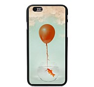 Elonbo® Fish balloon Plastic Hard Back Cover for iPhone 6