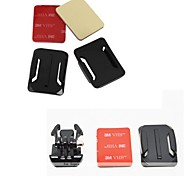 YouOKLight®   3X Curved Surface  3M Sticker & Mount  for GoPro Hero 3+/3/2/1 (7 Parts)