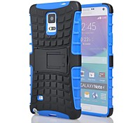 Rugged Armor Spider 2 in 1 Combo Defender Hybrid Case Built-in Kickstand Case for Samsung Galaxy Note4(Assorted colours)