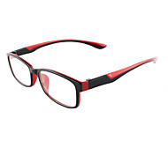 [Free Lenses] TR Rectangle Full-Rim Lightweight Prescription Eyeglasses