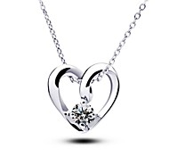 European Heart Dependent Pendant Necklaces