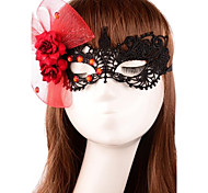 Fashion Crystal Butterfly Pattern Lace Dance Mask
