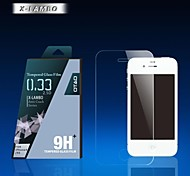 0.33mm OTAO Clear Screen Protector Film for Apple Iphone 4 4s