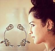 Brinco Formato de Flor Punhos da orelha Jóias Pesta / Diário Liga Feminino