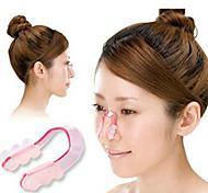 de plástico de moda tx ajustar férula nasal para hightening nariz (1 juego)