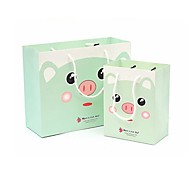 Lureme Lovely Baby Animal Face Pattern  Gift Bag(RandomColor)(1 Pc)