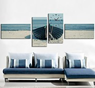 The Sea Anchor Clock in Canvas 4pcs