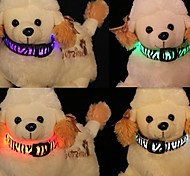 Dogs Coway The New Cool Zebra LED Luminous Necklace(Assorted Color)