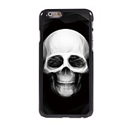 Skull Design Aluminum Hard Case for iPhone 6