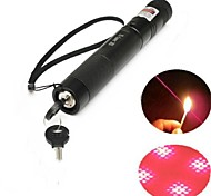 LT-303B Lockable Red Laser Pointer (5MW,650nm,1x18650,Black)