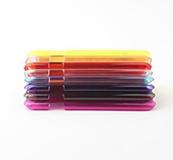 0.2mm Ultra Slim Clear PVC Hard Case for iPhone 6 (Assorted Colors)