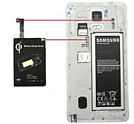 QI Wireless Charging Receiver for Samsung Galaxy Note4 N9100 (Black)