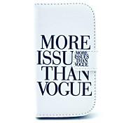 более вопрос, чем моде шаблон PU кожаный чехол с слотом для карт и стенд для Samsung Galaxy S3 мини i8190