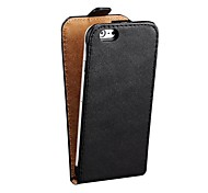 Smoothy Pattern Genuine Leather Cover for iPhone 6 Assorted Colors