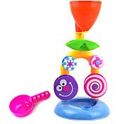 petite cascade jouets pour le bain plage d'eau sablier noria infantile des enfants