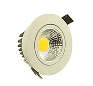 5W LED Ceiling Lights Recessed Retrofit 1 COB 500-550 lm Warm White / Cool White AC 85-265 V