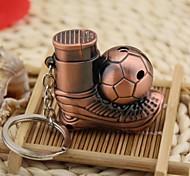 estilo de futebol criativo gás butano jato de metal à prova de vento mais leve