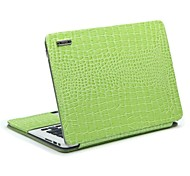 "11.6"" 13.3"" Radiating Crocodile Leather Protective Sleeve Bracket for MacBook Air"