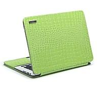 "11.6"" 13.3"" Radiating Crocodile Leather Protective Sleeve Bracket for MacBook Air"