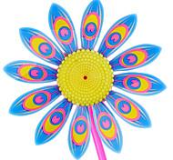 10pcs mode tournesol colorées jouets pour enfants éoliennes (couleur aléatoire)