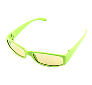 Rubber Frame No-Flash Polarized Light Circular 3D Glasses For Children