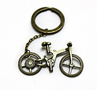Retro11.3cm Bicycle Style Zinc Alloy Keychain