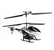 Huajun 2.4g 4ch rc helicopter met gyro / ios control / 3d GoPro / led licht m-215