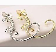 ms moda aretes gecko taladro orejas cuelgan (1 unidad)