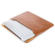 Taikesen Apple Macbook Pro 15 inch Leather Soft Sleeve Case Bag