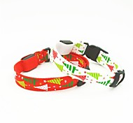Adjustable Night Safety Led Dog Collar For Christmas (Assorted Size,Colors)