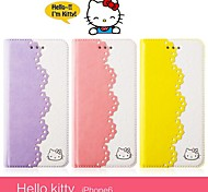 X-doria iphone6 carrying case new cartoon flip Hello Kitty cell phone case iPhone6