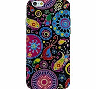 The Pop Art  Pattern TPU Soft Back Cover Case for iPhone 6