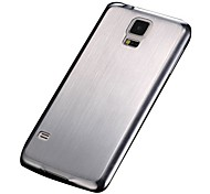 Brushed Aluminum Hard Case for Samsung Galaxy S5 I9600