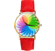 Women's Fashion Seven Color Light Wear Decoration Watches