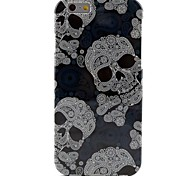 Skull Pattern TPU Soft Case for iPhone 6