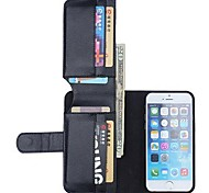 NEW Leather Wallet Full Body Cases Back Cover for iPhone 6(Assorted Color)
