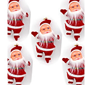 "5Pcs 4.3""Christmas Tree Hanging Decoration Santa Claus Doll"