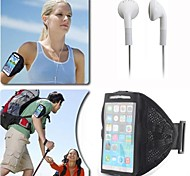 Mesh Nylon Quick Dry Sporty Armband with Earpod for iPhone 6 (Assorted Colors)