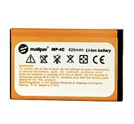 mallper 820mAh высокой емкости литий-ионный аккумулятор для Nokia BL-4C / 2650/6100/6101/6300/6131/6125/7200/7270/6260