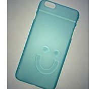 My Cover®Solid Color Translucent PC Hard Back Cover  for iPhone 6 Plus(Assorted Color)