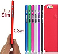 Ultra Thin Frosted Solid Case for iPhone 6 (Assorted Colors)